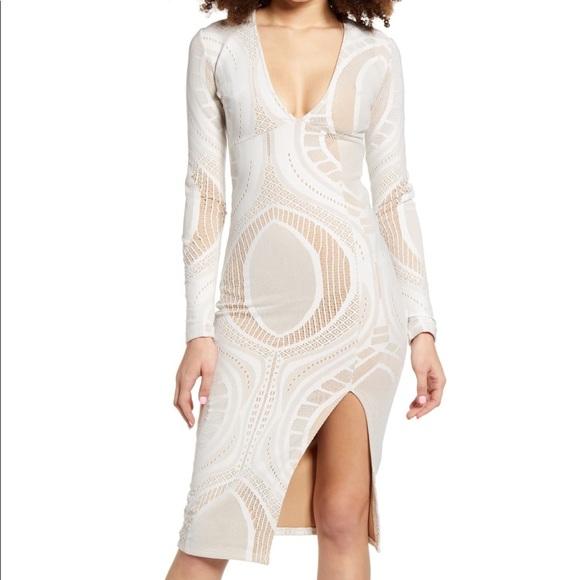 NWT SNDYS Bodycon dress